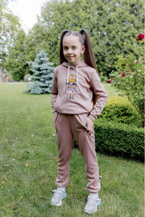 Дитяча футболка Casual  Лола ( бежевий) – купити в Україні від Галичанка фото 1
