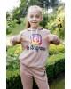 Дитяча футболка Casual  Інстаграм (бежевий) – купити в Україні від Галичанка фото 2