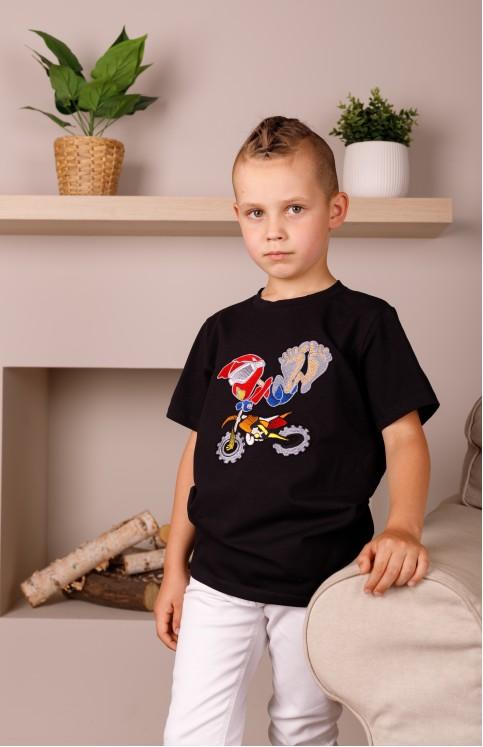Дитяча футболка Casual Варят (чорна) – купити в Україні від Галичанка фото 1
