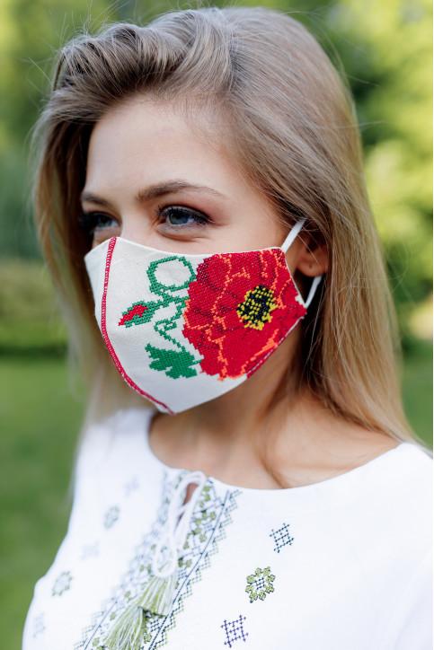Купити захисну маску Гармонія (молочна) в Україні від виробника Галичанка фото 1