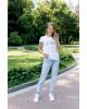Купити жіночу футболку casual   I LOVE LVIV  (біла) в Україні від Галичанка фото 1