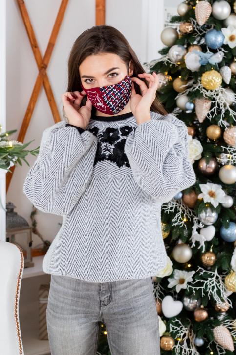 Купити захисну маску Різдво в Україні від виробника Галичанка фото 1