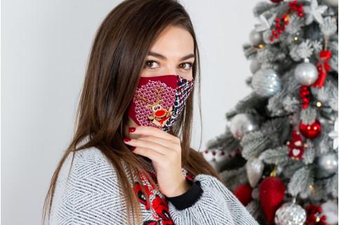 Купити захисну маску Позитивчик в Україні від виробника Галичанка фото 1