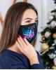 Купити захисну маску Ірен (чорна) в Україні від виробника Галичанка фото 2