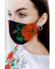 Купити захисну маску Гармонія (чорна) в Україні від виробника Галичанка фото 2