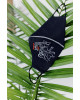 Купити захисну маску  Куми до Куми (чорна) в Україні від виробника Галичанка фото 1