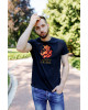 Купити чоловічу футболку Casual Місто Лева (чорна)  в Україні від Галичанка фото 2