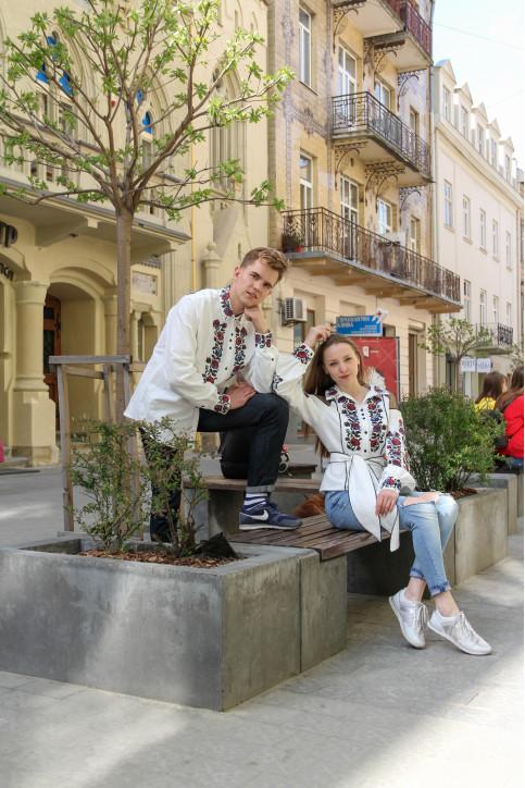 Купити парні вишиванки Павло і Юлія в Україні від Галичанка фото 1