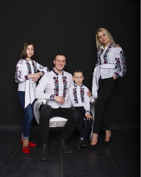 Купити парні вишиванки Сімейний лук Павло і Юлія  в Україні від Галичанка фото 1