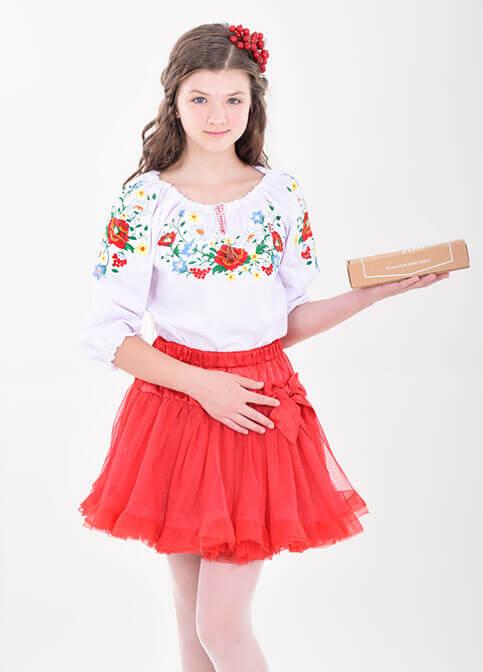 Вишиванка для дівчинки Красунечка – купити в Україні від Галичанка фото 1
