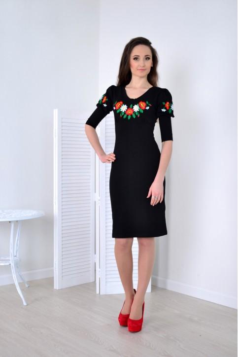 Купити вишиту сукню Софія в Україні від виробника Галичанка фото 1